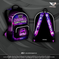 Arcola High BACKPACK-prodigy PROOF