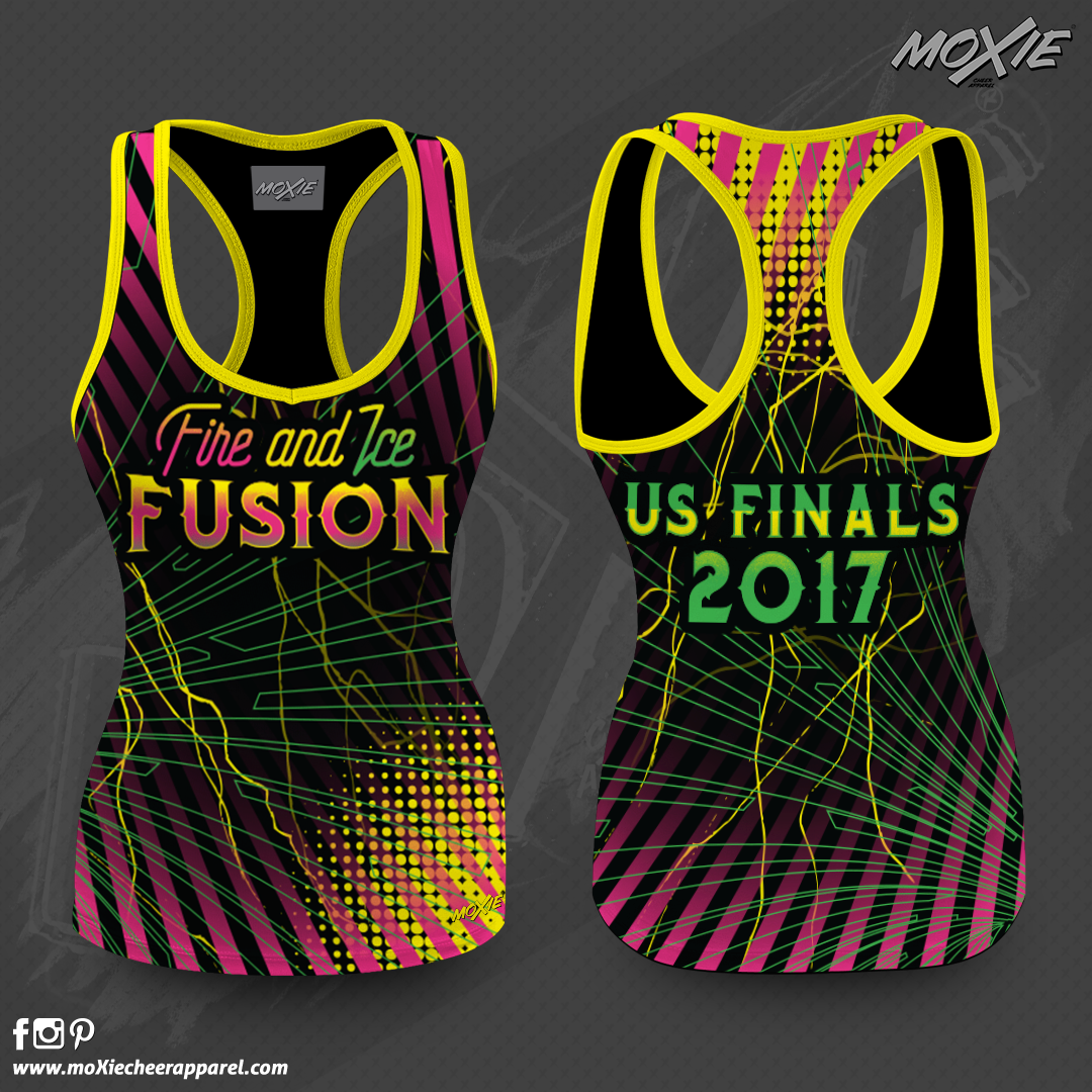 Fire & Ice Fusion TANK TOP-PROOF