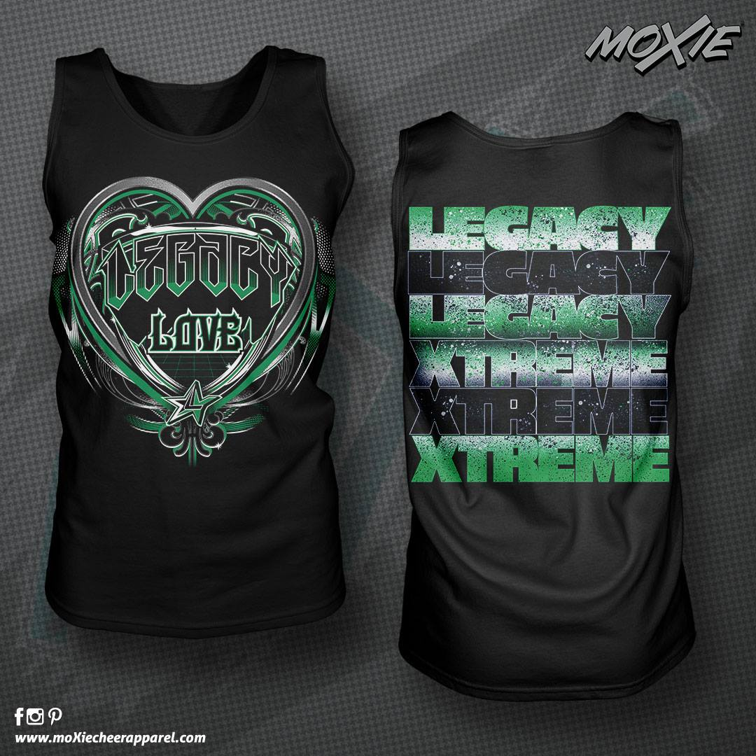 Legacy Love TANK TOP-MOXIE PROOF