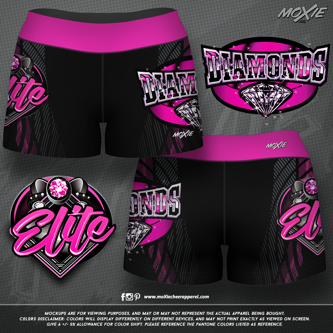 Diamond Elite SHORTS-moXie PROOF
