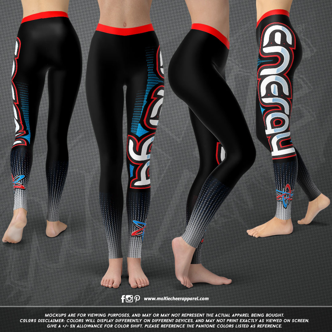 Cheer Energy LEGGINGS-moXie PROOF