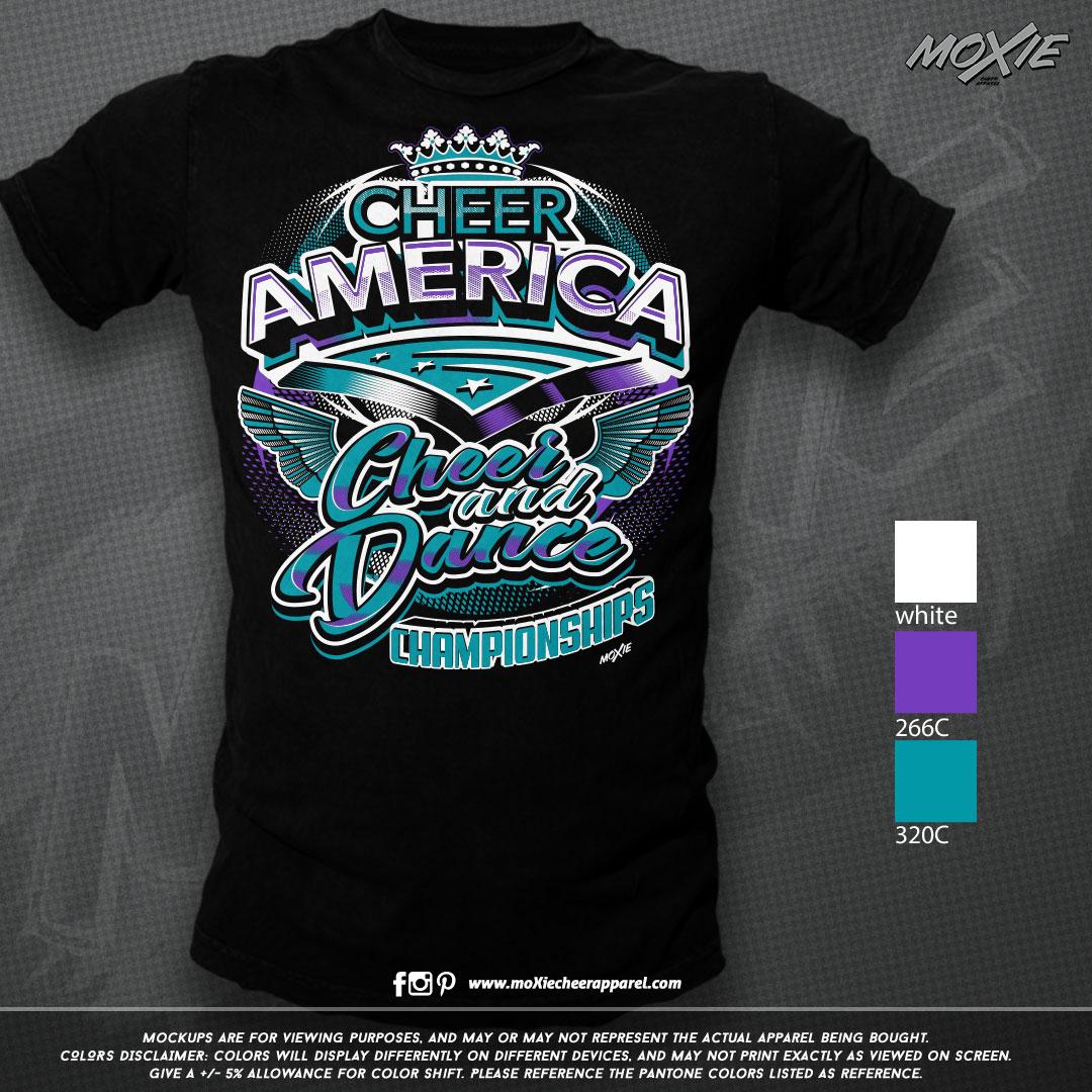 Cheer-America-Spring 19 TSHIRT-moXie PRO