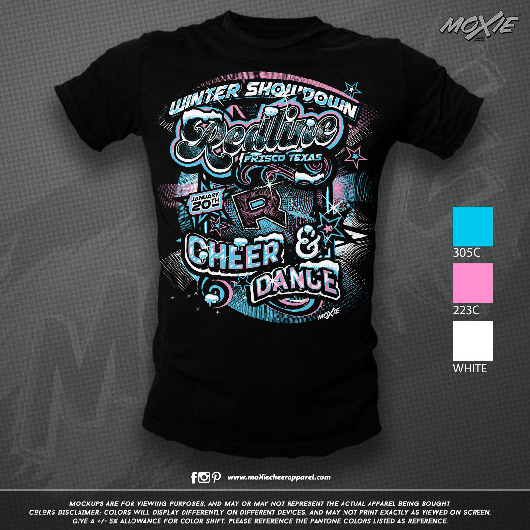 Redline Winter Showdown TSHIRT-moXie PRO
