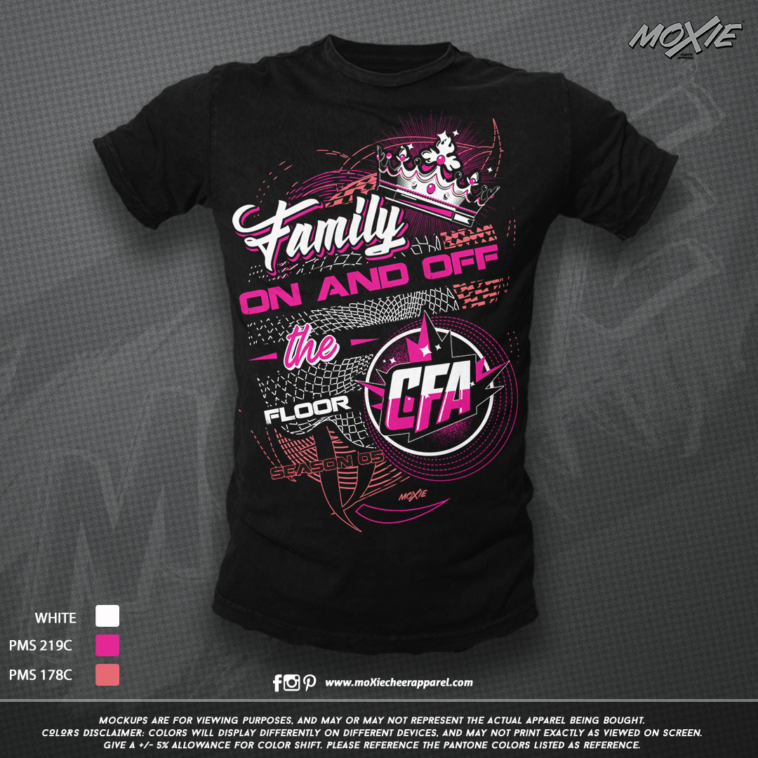 Cheer Fuzion Athletics Season 5 TSHIRT-m