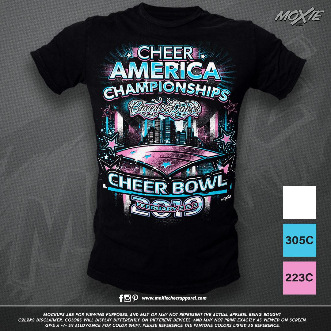 Cheer-America-Cheer Bowl 19 TSHIRT-moXie