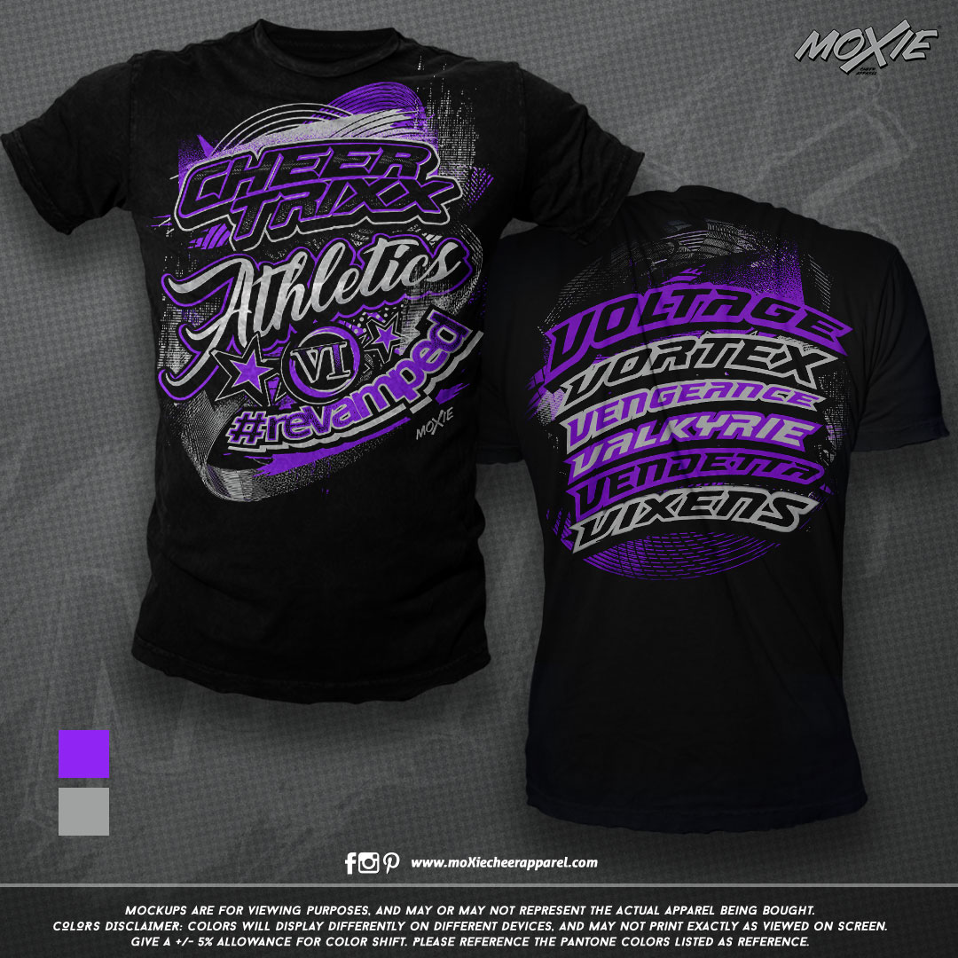 Cheer Trixx Athletics TSHIRT-moXie PROOF