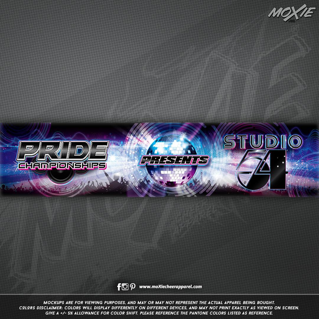 Pride Championships Studio 54 BANNER-moX