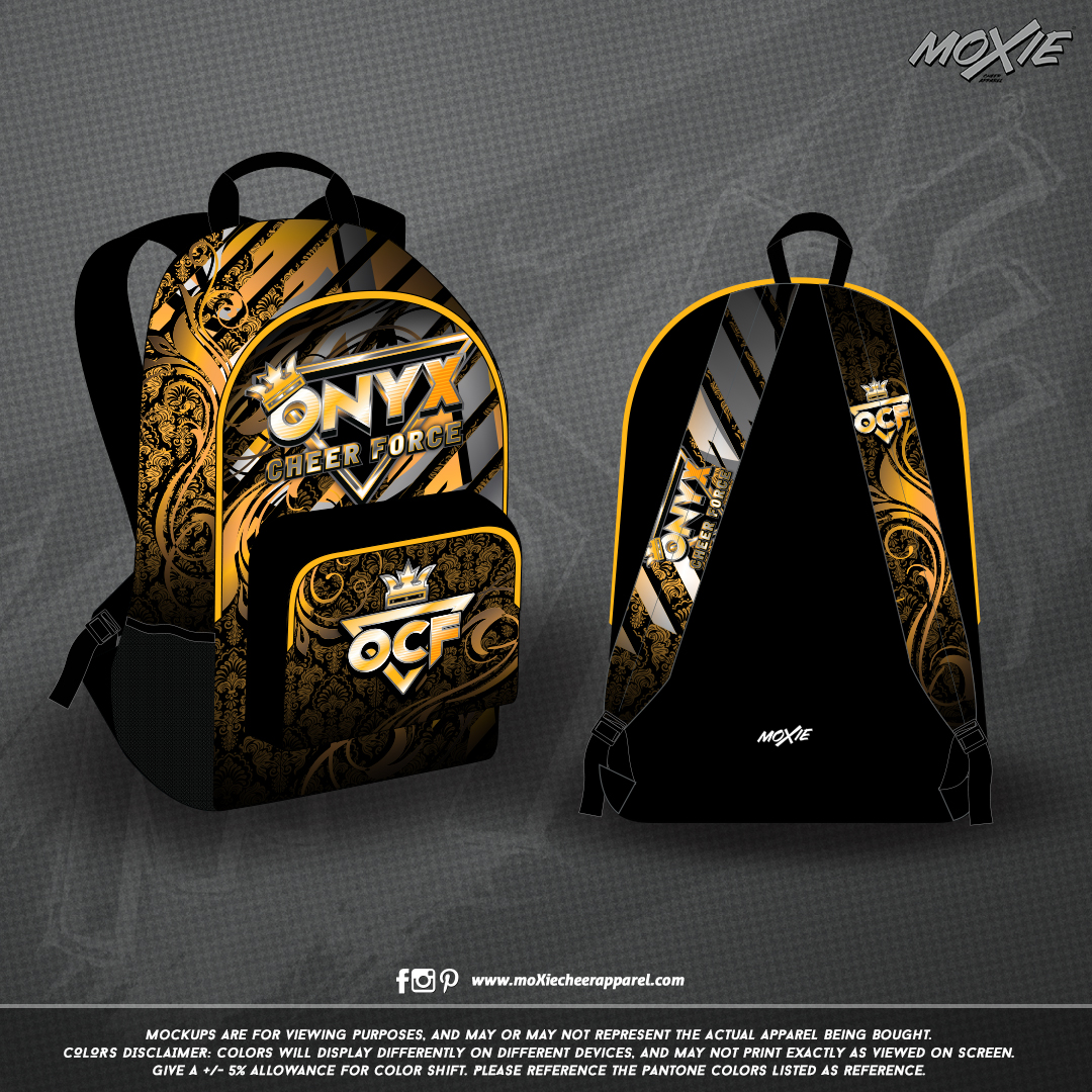ONYX CHEER FORCE-BACKPACK-moXie PROOF