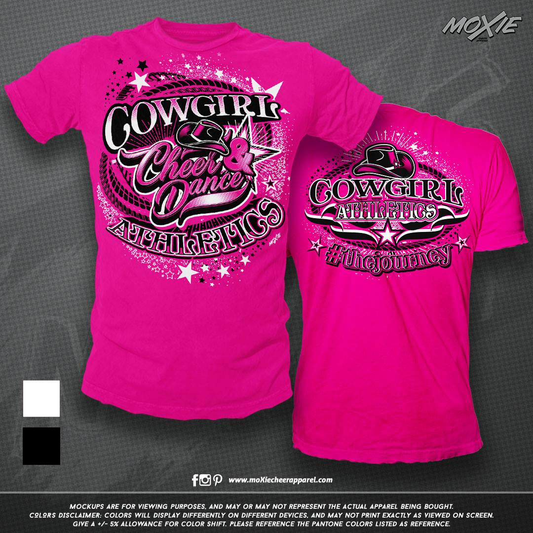 Cowgirl Athletics TSHIRT-moXie PROOF