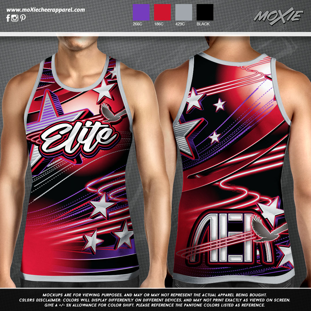 Airborne-Elite-Athletics-MENS TANK-moXie