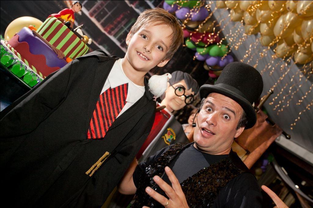 show de mágicas em festa aniversário