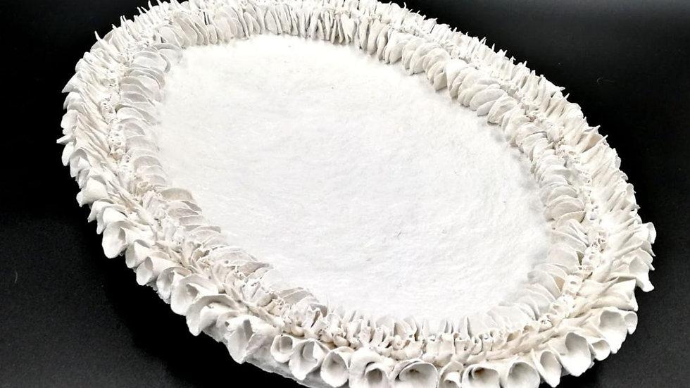 Vassoio portaoggetti ovale