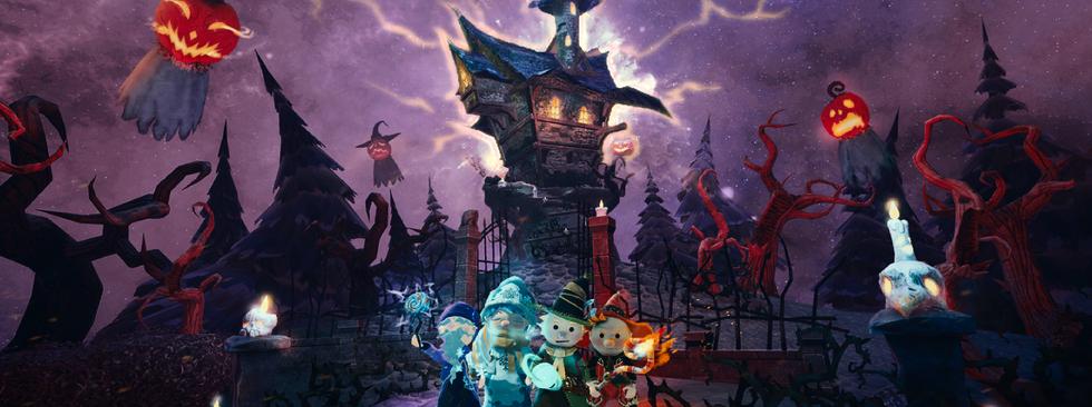 魔法夜派對海報