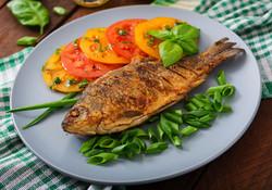 fried-fish-carp-fresh-vegetable-salad-wo