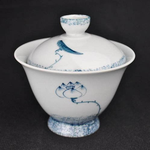 Six Stages of the Lotus Gaiwan and Cups (6)