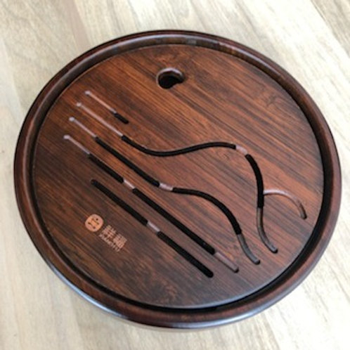 Round Bamboo Tea Table