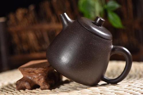 """Hei Jin Gang Clay """"Gao Shi Piao"""" Yixing Teapot"""