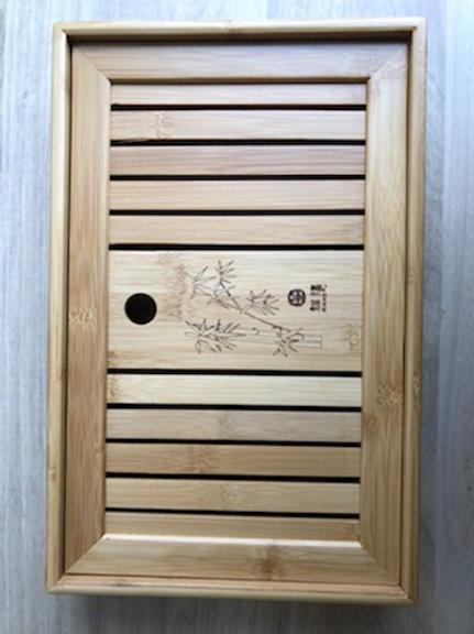 Raw Bamboo Tea Table