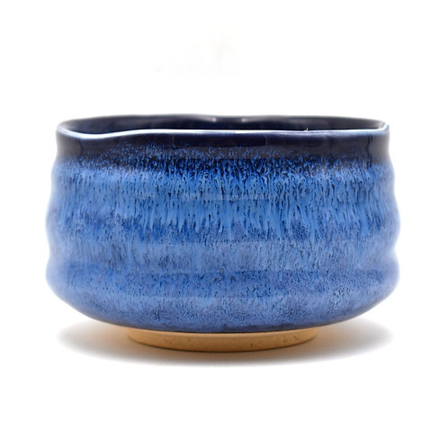Mosaic Blue Matcha Bowl