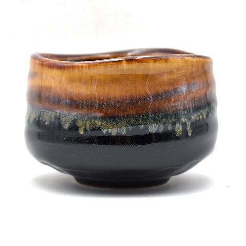 Kazen Black Matcha Bowl