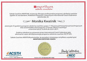 akredytacja, certyfikacja, ACC, ACSTH, szkolenie akredytowane,