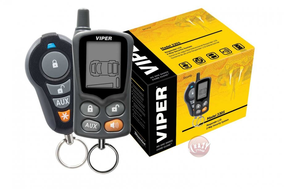 Viper 3305 V 2-Way Security System