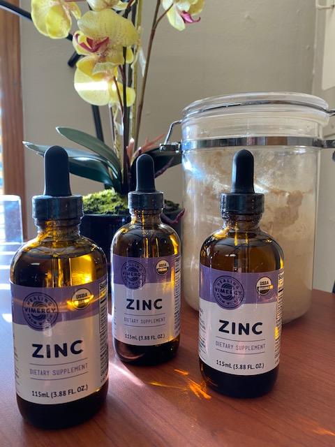 Organic Liquid Zinc Supplement 3.88 FL OZ