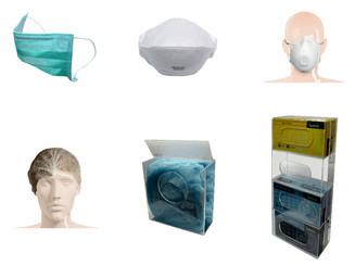 Face Masks, Hair Nets & Dispensers