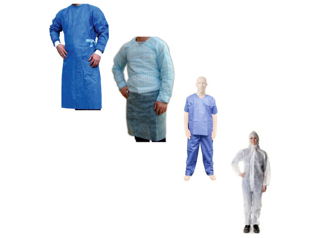 Isolation Gowns, Coverall & Scrub Suits