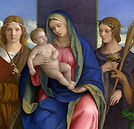 Madonna and Child Saints