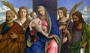 Madonna et Saints Enfant