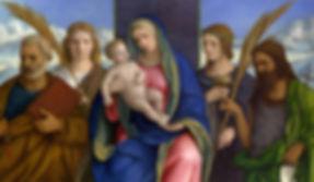 Мадонна и Святые по уходу за детьми