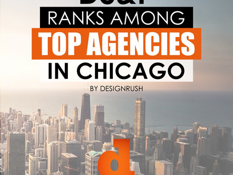 DS&P RANKS AMONG TOP AGENCIES IN CHICAGO BY DESIGNRUSH