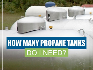 How Many Propane Tanks Do I Need?