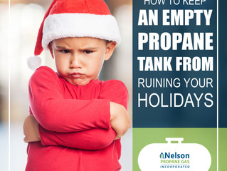 How To Keep An Empty Propane Tank From Ruining Your Holiday