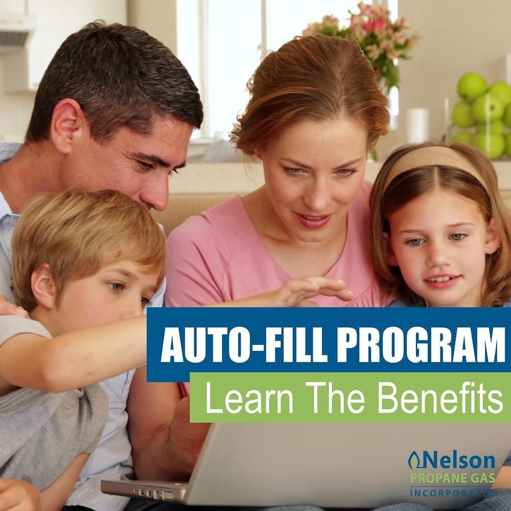 Propane auto-fill program benefits