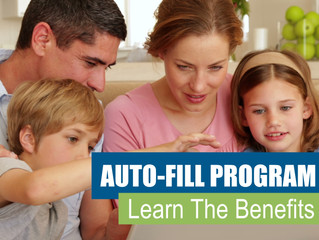 Learn The Benefits Of Our Autofill Program
