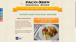 Paco & John Website