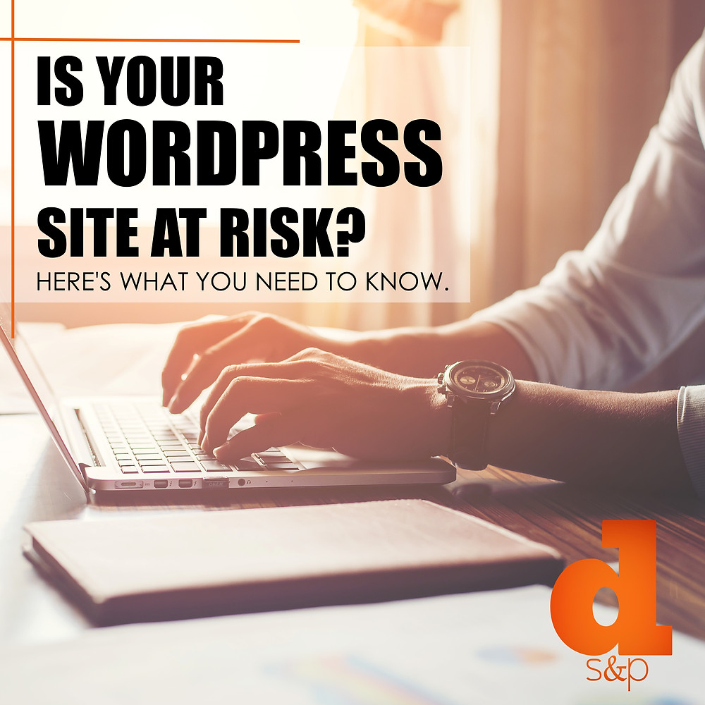wordpress site at risk