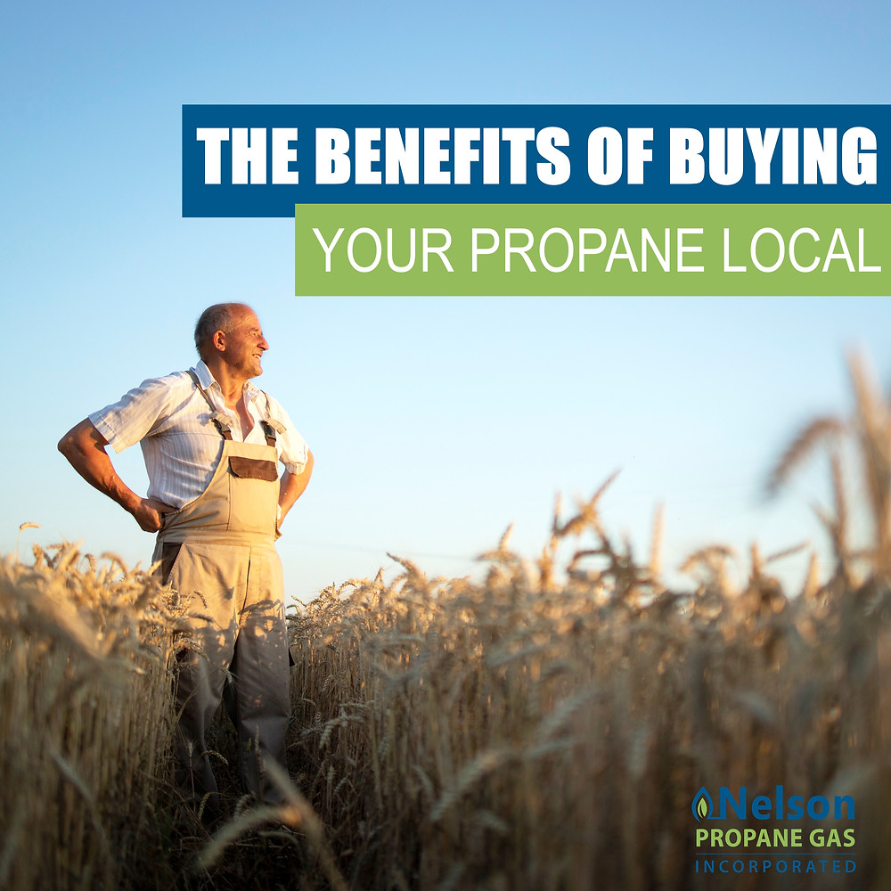 the benefits of buying your propane local