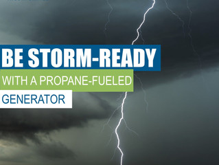 Keep Your Lights On! Be Storm-Ready With a Propane-Fueled Generator