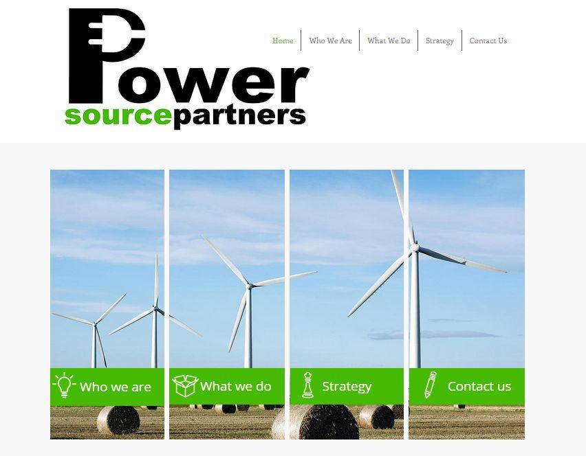 Power Source Partners Website