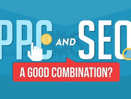 Pay-Per-Click and organic SEO - A marriage made in digital heaven.