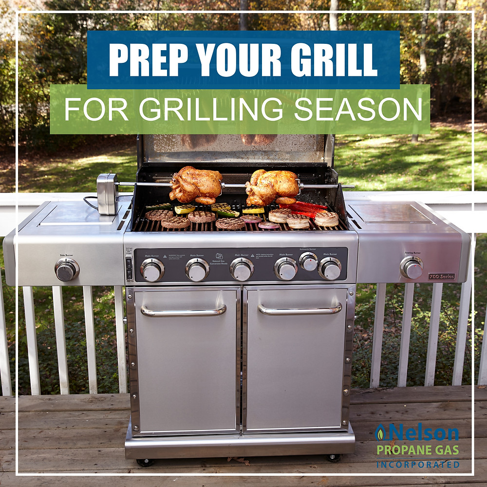 prep your grill for grilling season with propane