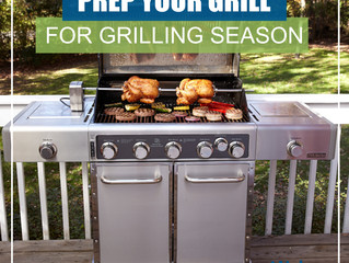 Prep Your Grill For Grilling Season