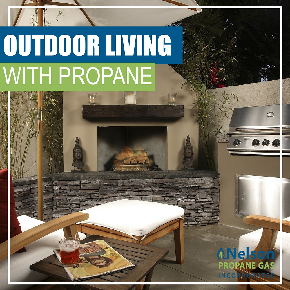 OUTDOOR LIVING WITH PROPANE