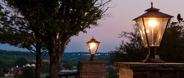 How to create the perfect outdoor ambience with propane fueled lamps how to create the perfect outdoor ambience with propane fueled lamps nelson propane gas delivery and services texas aloadofball Images