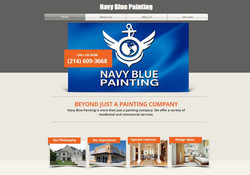 Navy Blue Painting Website
