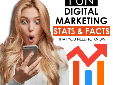 Fun Digital Marketing Facts and Stats You Need To Know