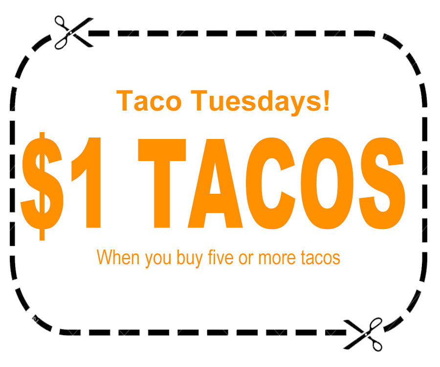 3 Hermanos Taqueria coupons (taco tuesda